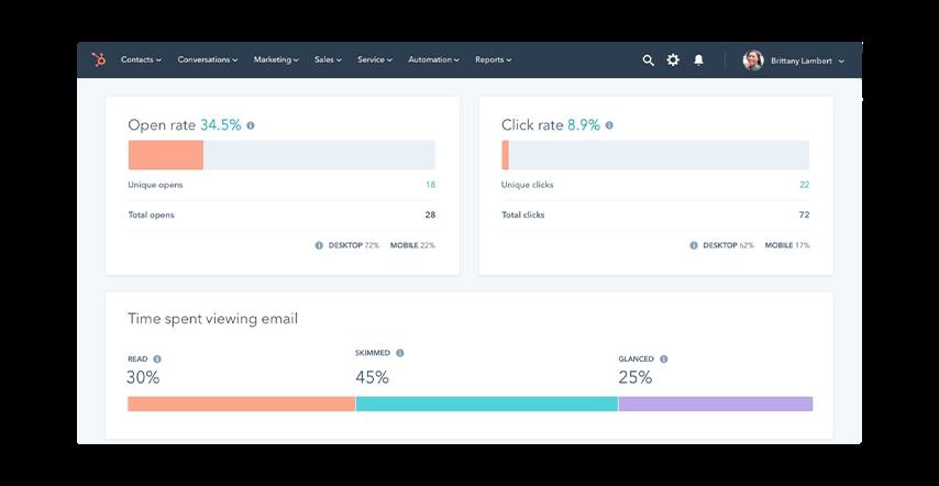 hubspot-email-dashboard